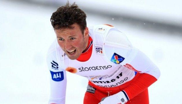 Тур де Ски: Остберг и Иверсен выиграли масс-старт в Оберстдорфе