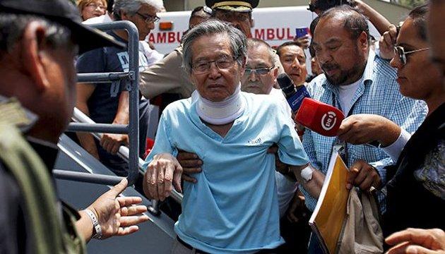 Помилуваного екс-президента Перу виписали з лікарні