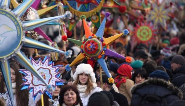На Новий рік і Різдво у Києві обіцяють удвічі більше заходів, ніж торік