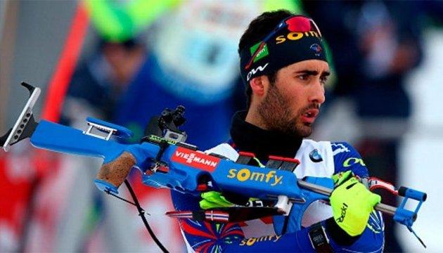 Французский биатлонист Фуркад выиграл в Оберхофе спринт, Пидручный - 10-й
