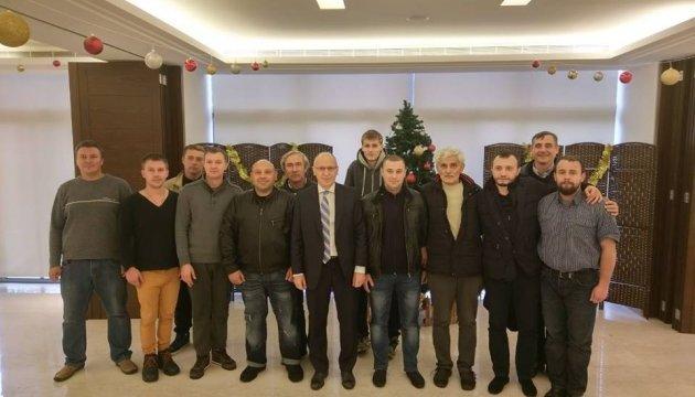Українські моряки із судна