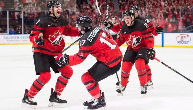 Канада - победитель молодежного чемпионата мира по хоккею