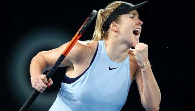 Свитолина победила на турнире в Брисбене