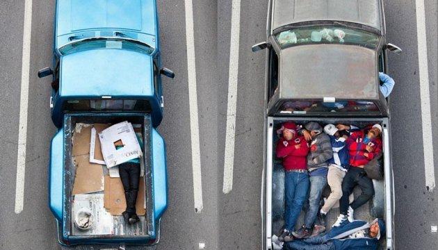 Як мексиканці на роботу їздять