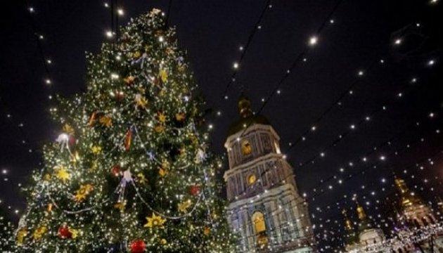 Новый год на Софийской площади встретили 130 тысяч человек