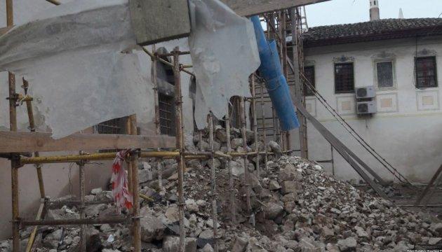 Поліція відкрила справу через знищення Ханського палацу в окупованому Криму