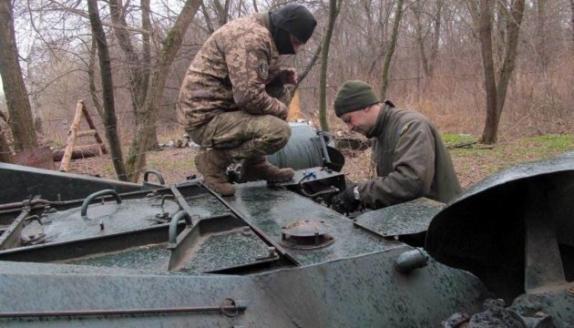 Five Ukrainian soldiers wounded in Donbas over past day – Prauta