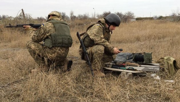 Militants launched 59 attacks on Ukrainian troops in Donbas in last day