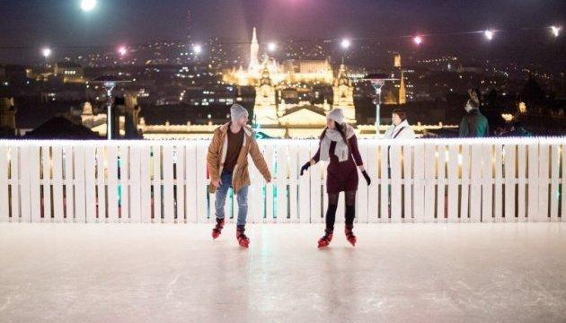 Над Будапештом можно покататься на коньках