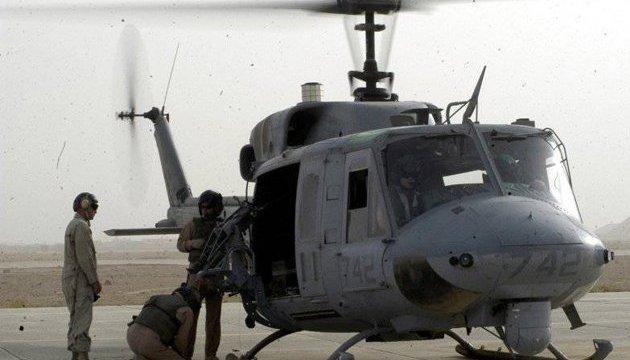 В Японии экстренно совершил посадку военный вертолет США