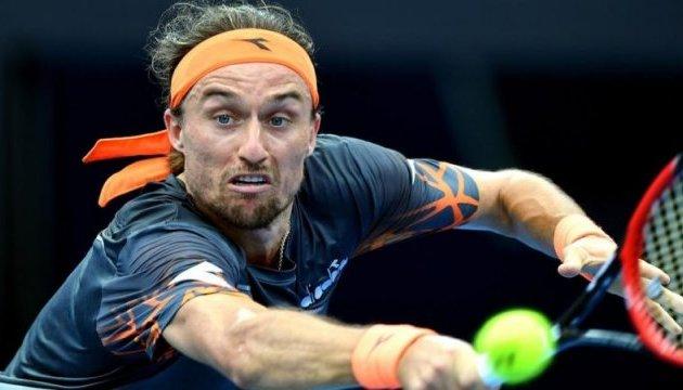 Теннисный матч Долгополов - Фоньини перенесен на среду
