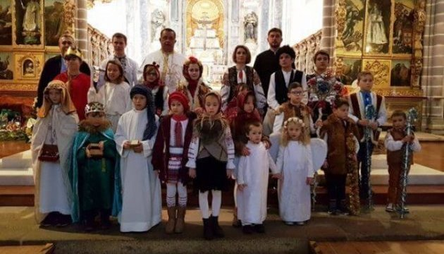Ukrainians in Portugal show Christmas Nativity play