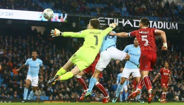 Кубок английской лиги: Зинченко помог «Манчестер Сити» обыграть «Бристоль»