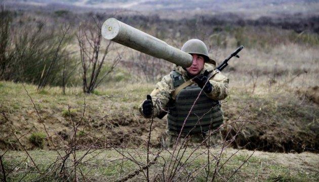 ATO: Militantes hacen fuego de morteros cerca de Shyrokyne