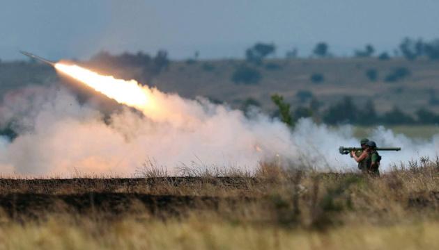 Ocupantes bombardean las Fuerzas Armadas de Ucrania con artillería pesada