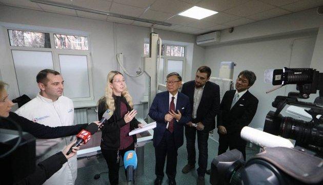 Посол Японии передал киевской больнице рентгеновское оборудование