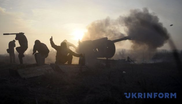 One Ukrainian soldier killed, six wounded and injured in Donbas