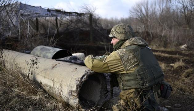 14 Angriffe des Feindes in der Ostukraine