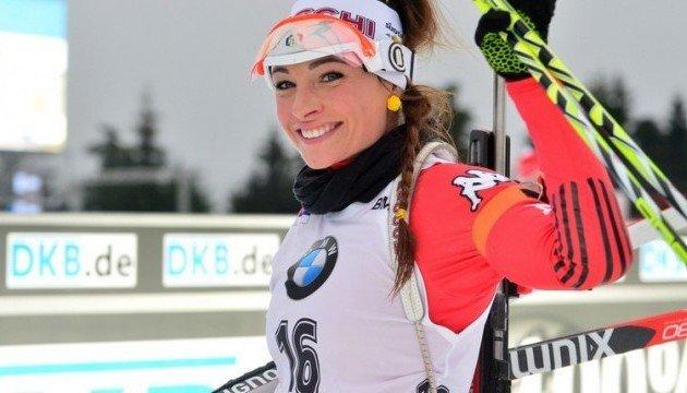 Биатлон: итальянка Вирер выиграла индивидуальную гонку в Рупольдинге; украинки - в Топ-5
