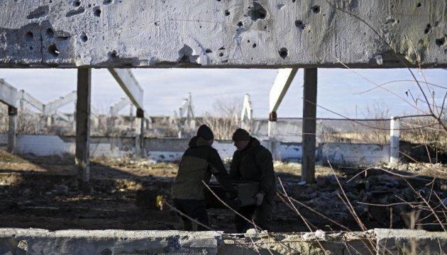 АТО: з початку доби не зафіксували жодного обстрілу українських позицій