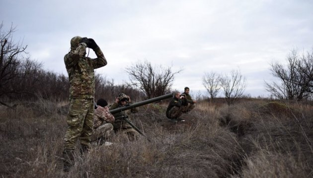 One Ukrainian soldier killed, four wounded in Donbas over past day