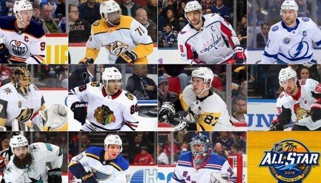 Хоккей: известны все 44 участника Матча звезд НХЛ