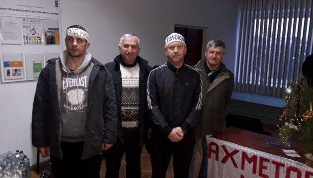 Голодный протест в Павлограде: одного из шахтеров госпитализировали