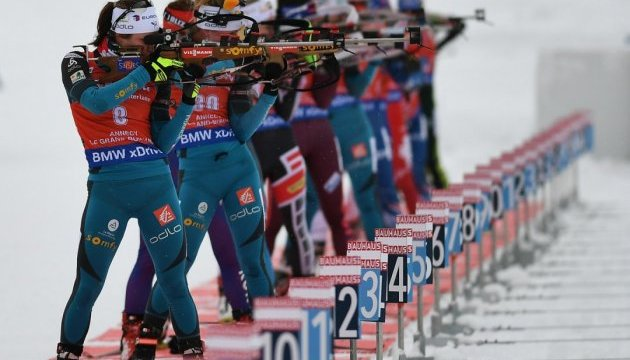 Біатлон: німкеня Хінц перемогла у мас-старті в Контіолахті; Джима - 14-та