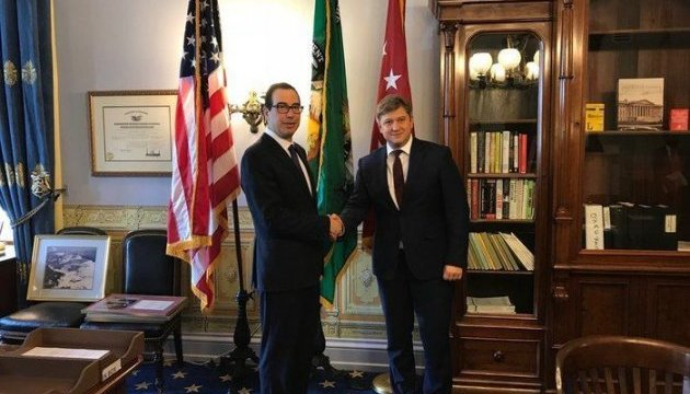 Данилюк обговорив з американським колегою санкції та взаємодію з МВФ
