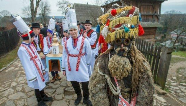 Як українці Маланку святкували