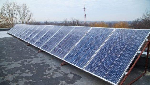 Солнечные панели экономят средства школе на Днепропетровщине