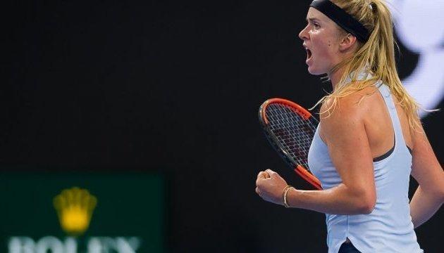 Свитолина разгромила Аллертову и впервые вышла в 1/4 финала Australian Open