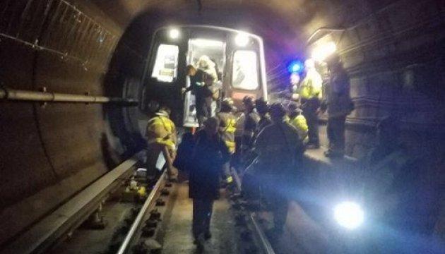 У Вашингтоні зійшов з рейок поїзд метро