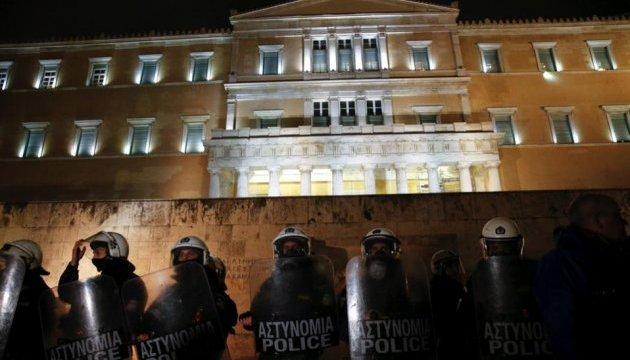 Попри масові протести у Греції затвердили пакет жорстких реформ