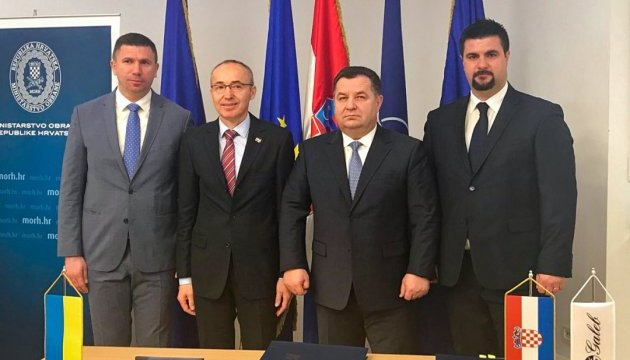 Оборонное сотрудничество с Хорватией переходит в практическое русло - Полторак