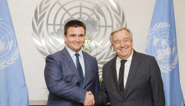 Гутерріш назвав врегулювання на Донбасі одним із пріоритетів ООН на цей рік
