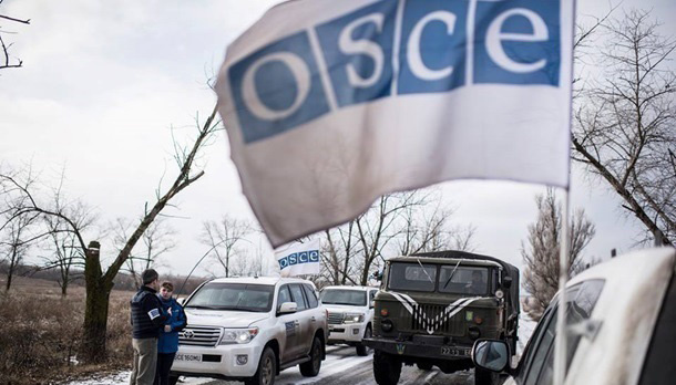 OSCE reports on ceasefire violations in Donbas