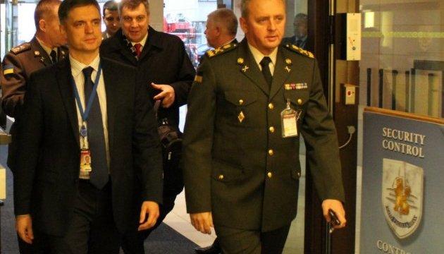 Муженко у Брюсселі взяв участь у двох засіданнях Військового комітету НАТО
