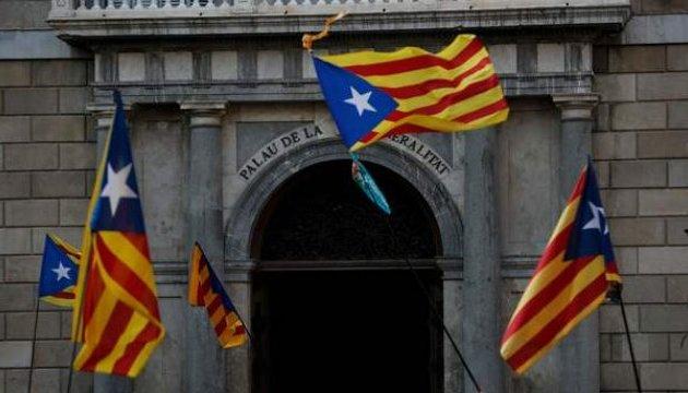 Парламент Каталонії відмовився підтверджувати декларацію про незалежність