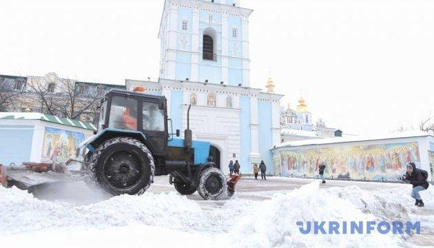 У Києві сьогодні – хуртовини і пориви вітру до 20 м/с