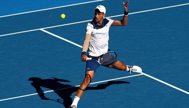 Australian Open: Джокович уп'ятнадцяте поспіль переміг Монфіса