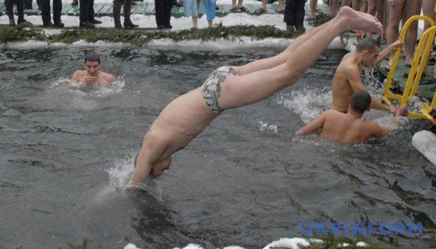 У Києві відбувся фестиваль моржів