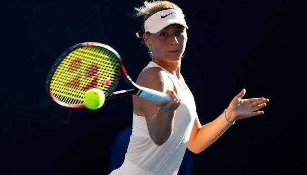 Порошенко: українка Марта Костюк стала сенсацією світового тенісу