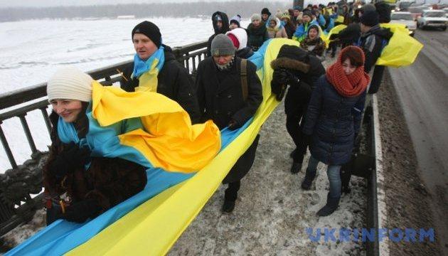 КМДА повідомила про заходи у столиці з нагоди Дня Соборності України