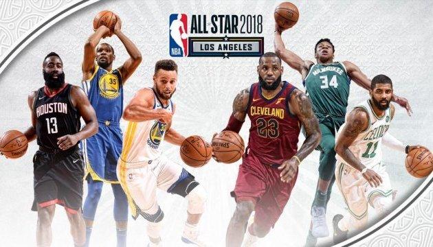Стали відомі стартові п'ятірки команд на Матч зірок НБА