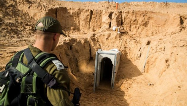 """Ізраїль знайшов шість тунелів """"Хезболли"""" на кордоні з Ліваном"""