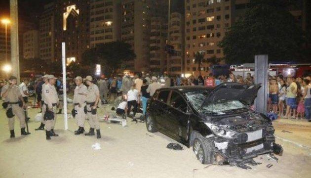У Ріо-де-Жанейро автомобіль в'їхав у натовп