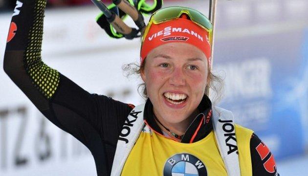 Біатлон: гонку переслідування в Антгольці виграла Дальмаєр; Віта Семеренко - 17-та