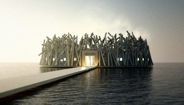 Арктичне оздоровлення пропонує шведський готель на воді