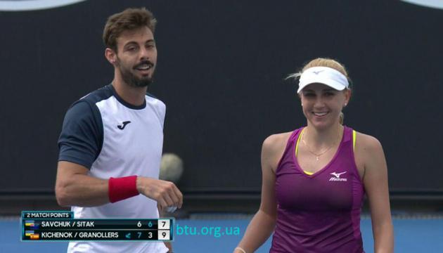 Australian Open: Надежда Киченок вышла во второй круг смешанного разряда